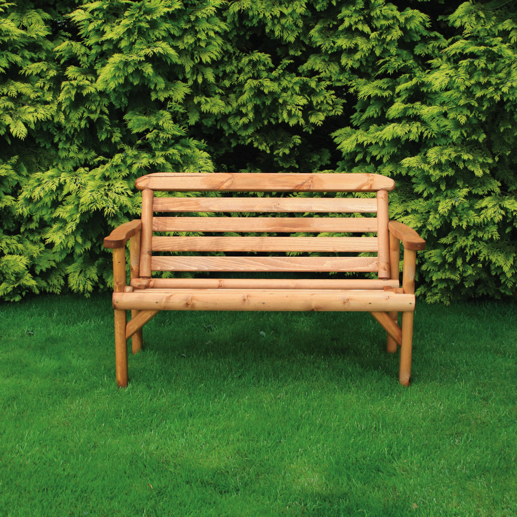 Outdoor Living Garden Furniture Benches Anchorfast Rustic Bench 4ft
