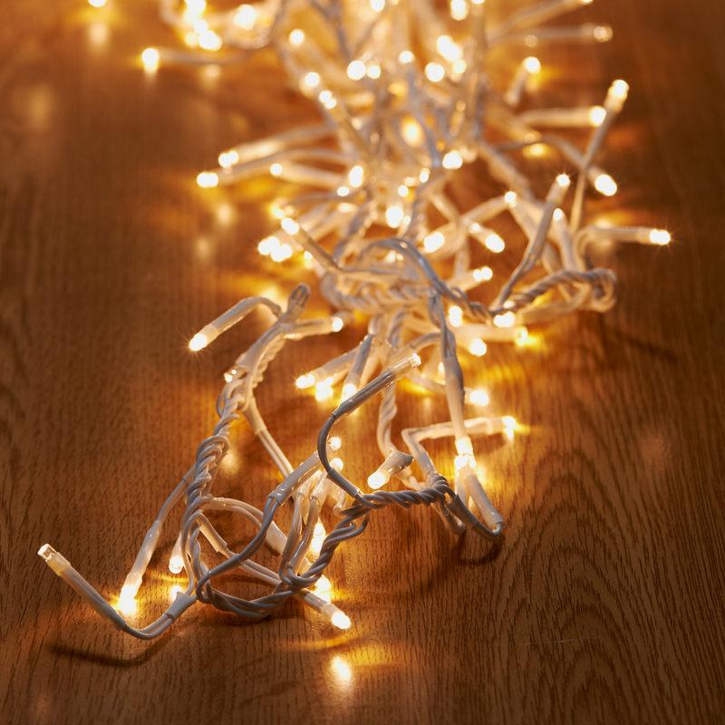 Cluster Led Lights Christmas