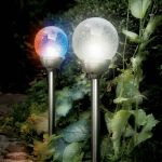 Solar Ice Orb Border Lights