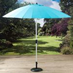 Pagoda Turquoise Shanghi Parasol 2.7m