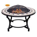 Gardeco Calenta Mosaic BBQ Fire Bowl