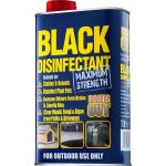 Black Disinfectant 1ltr NEW