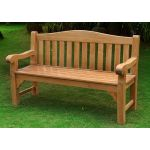 Oxford Teak Bench - Rondeau Leisure