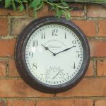 Bickerton Wall Clock & Thermometer