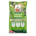 6X Pelleted Chicken Manure - 20Kg
