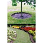 "2mm Thick Heavy Duty Lawn Edging Black - 6"" Deep"