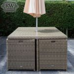 Chester Cube Rattan 4 Seat Set