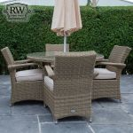 Rathwood - Chester 4 Seater Set