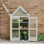 Westland Wooden Growhouse - Dove Grey