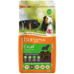 Burgess Excel Tasty Guinea Pig Nuggets For All Ages - With Mint