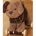 Percy Pup Pull Along Toy