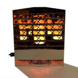 Luxa Flamelighting Grille Firebox with red glow base