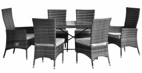 Pagoda Toulouse Dining Set