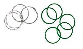 Plant Rings Zinc Coated
