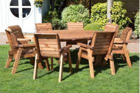 Eight Seater Circular Table Set