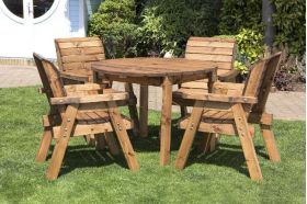 Four Seater Circular Table Set