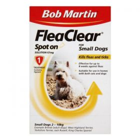 Flea Clear Spot On Treatment
