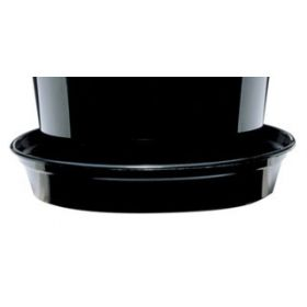 Black Flower Pot Saucers