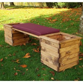 Charles Taylor Deluxe Wooden Planter Bench