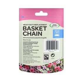 Heavy Duty 4 Way Black Replacement Basket Chain