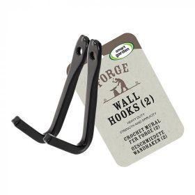 Forge Wall Hooks, 2-pk