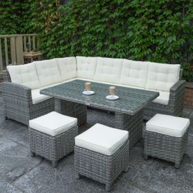 Oxford Corner Set with Table