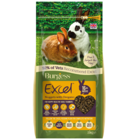 Burgess Excel Tasty Nuggets For Adult Rabbits - With Oregano