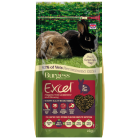 Burgess Excel Tasty Nuggets For Mature Rabbits - Cranberry and Ginseng
