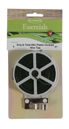 Snip & Twist 50m Plastic Covered Wire Ties