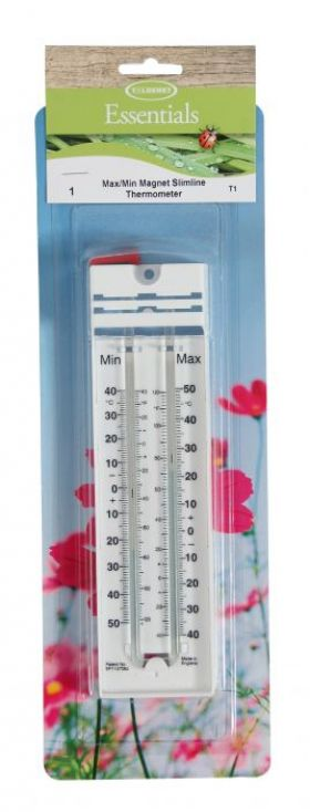 Max/Min Magnet Slimline Thermometer