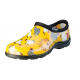 Chicken Print / Daffodil Yellow Sloggers